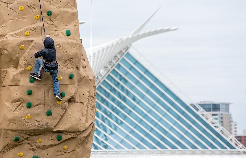 adventure rock climbing