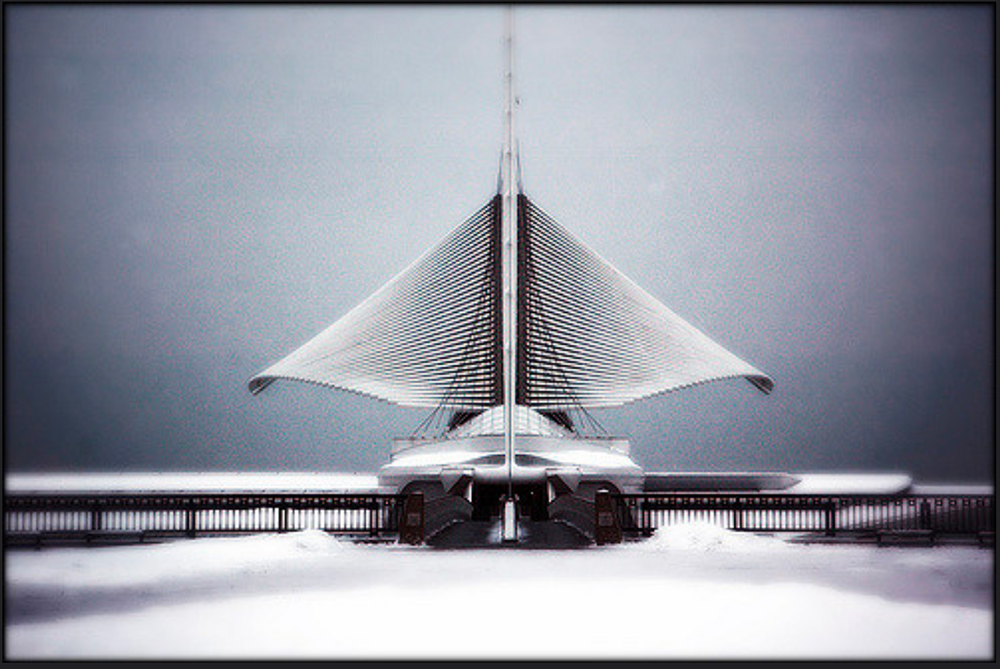 Milwaukee Art Museum folding its wings