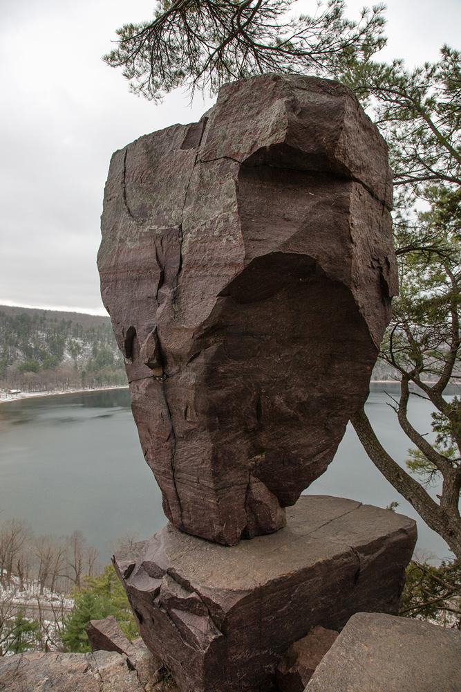 Balanced Rock, Devil's Lake State Park