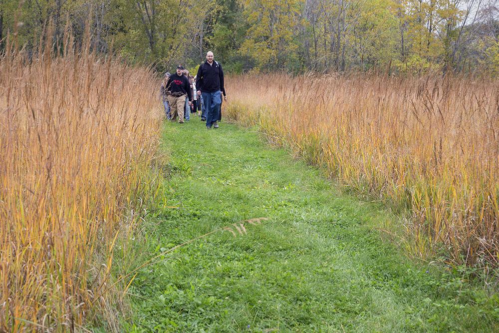 Hike organized by Brew City Safari