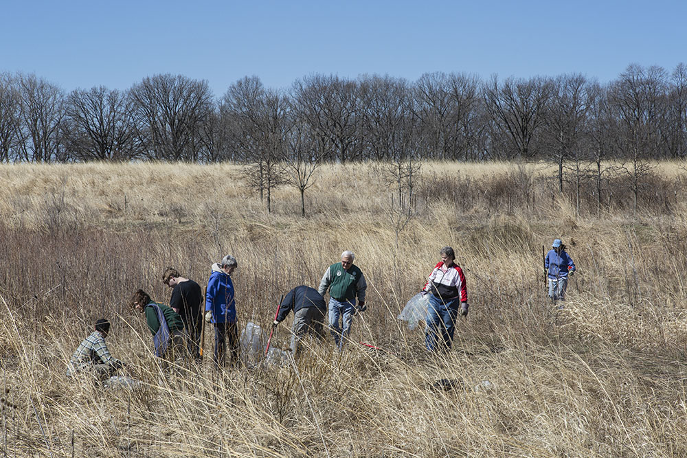 Work day organized by Sierra Club Great Waters Group