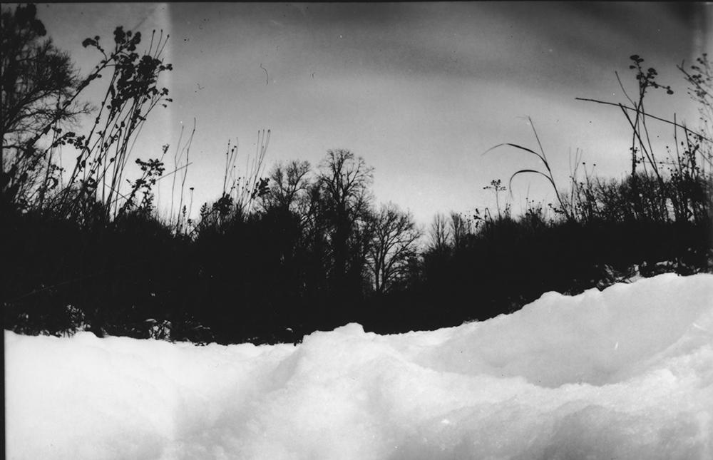 """Winter"" - pinhole image"