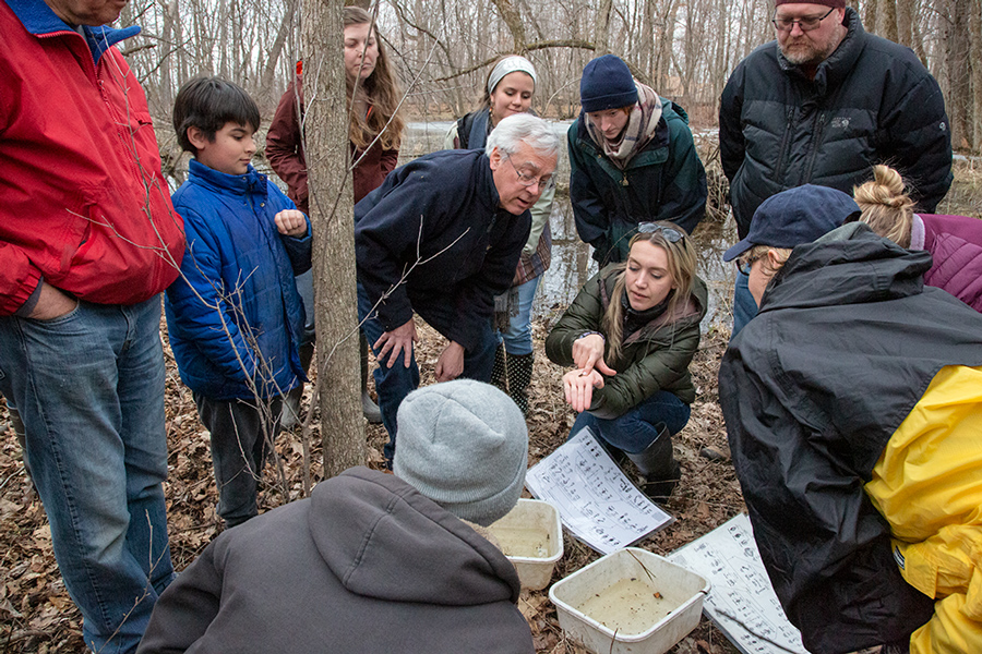 Learning to identify macro-invertebrates found in pond water