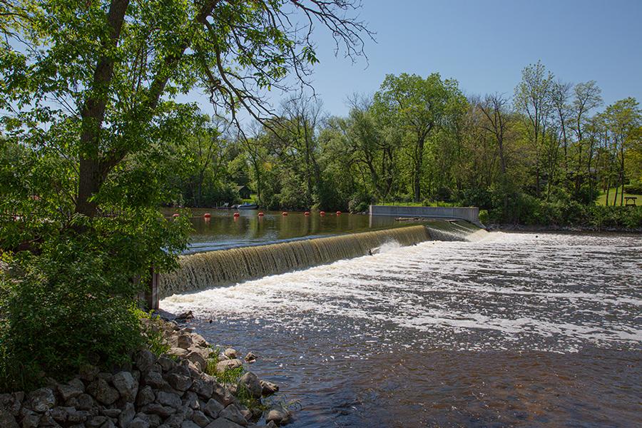 Thiensville Dam