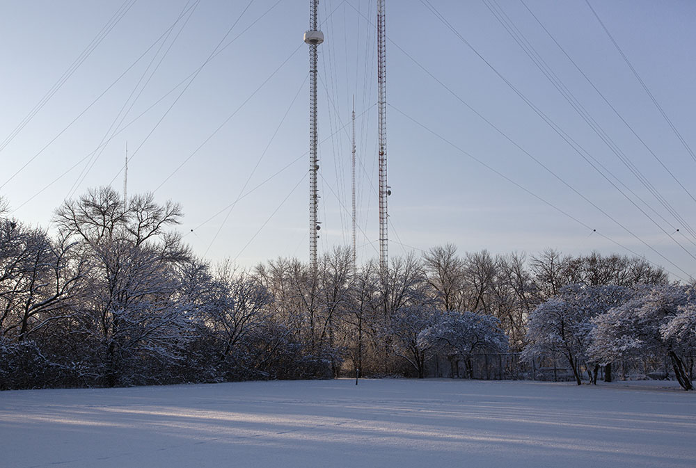 Radio towers, Estabrook Park
