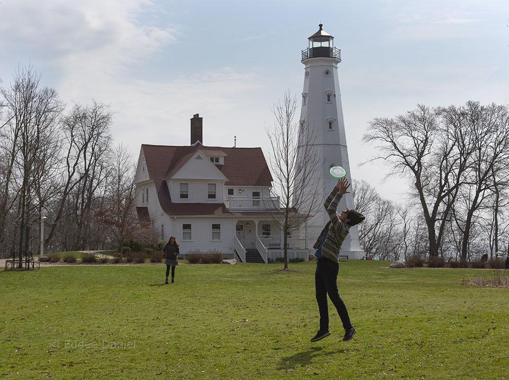 North Point Lighthouse, Lake Park, Milwaukee, WI.