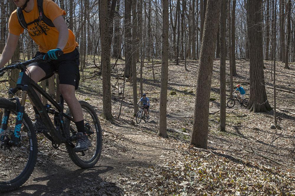 Alpha-Kegel Mountain Bike Trail, Mangan Woods, Franklin