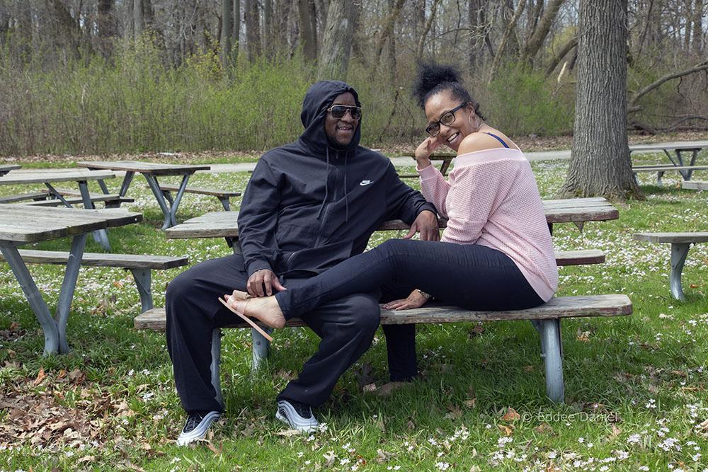 James and Jeena, McGovern Park, Milwaukee