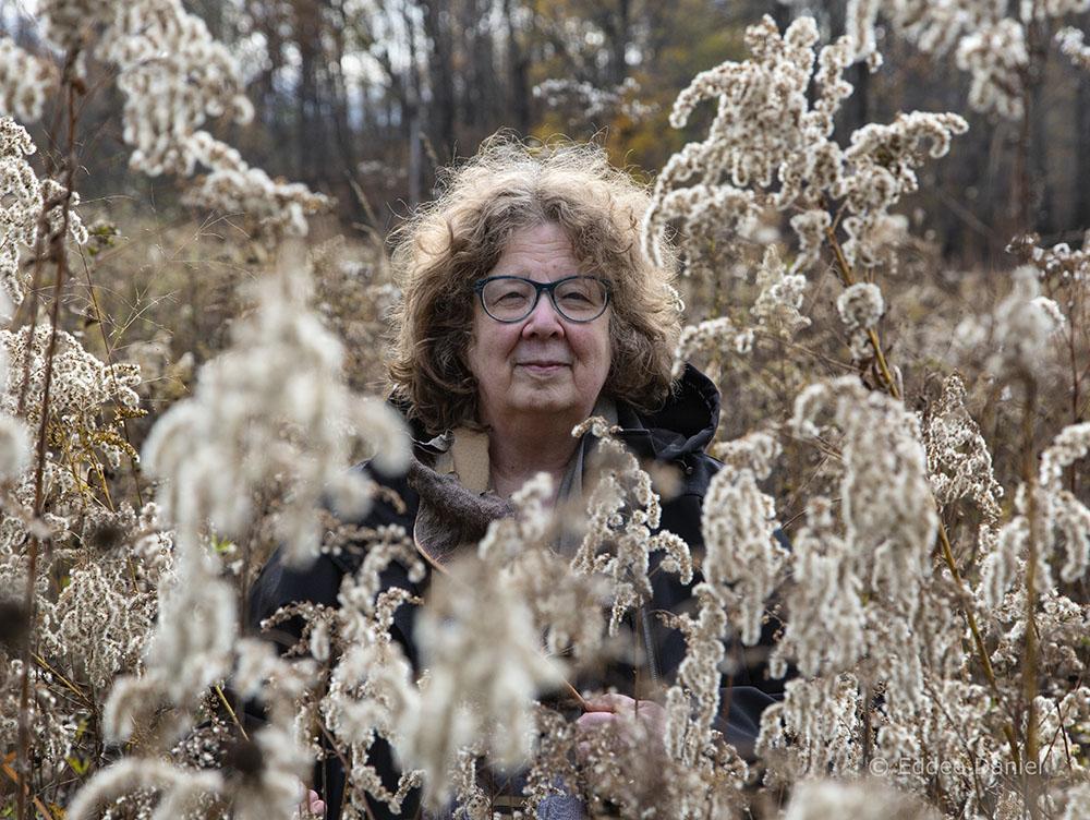 Leslie Fedorchuk at Kratzsch Conservancy