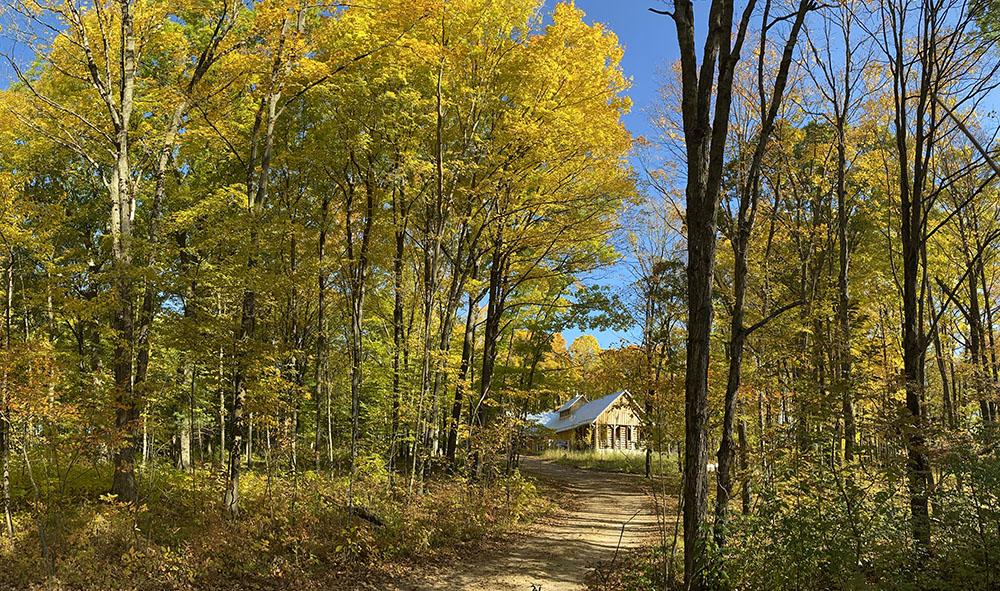 The Sugarbush House at Riveredge Nature Center, Newburg