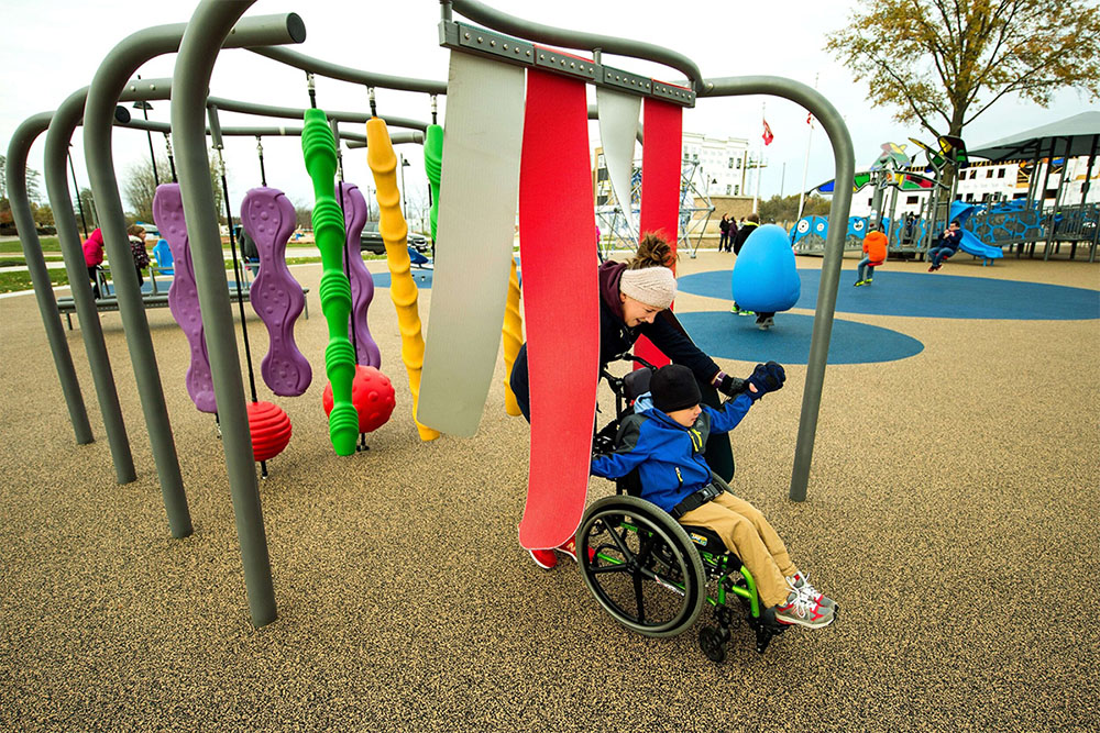 Accessible playground.