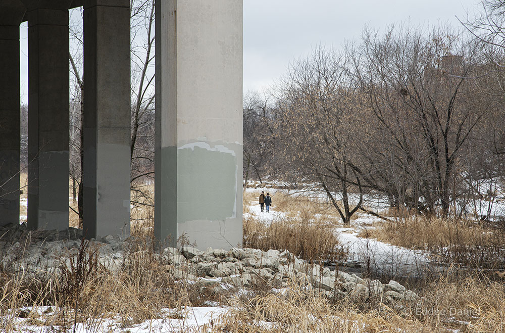 The West Bank Trail at the North Avenue Bridge