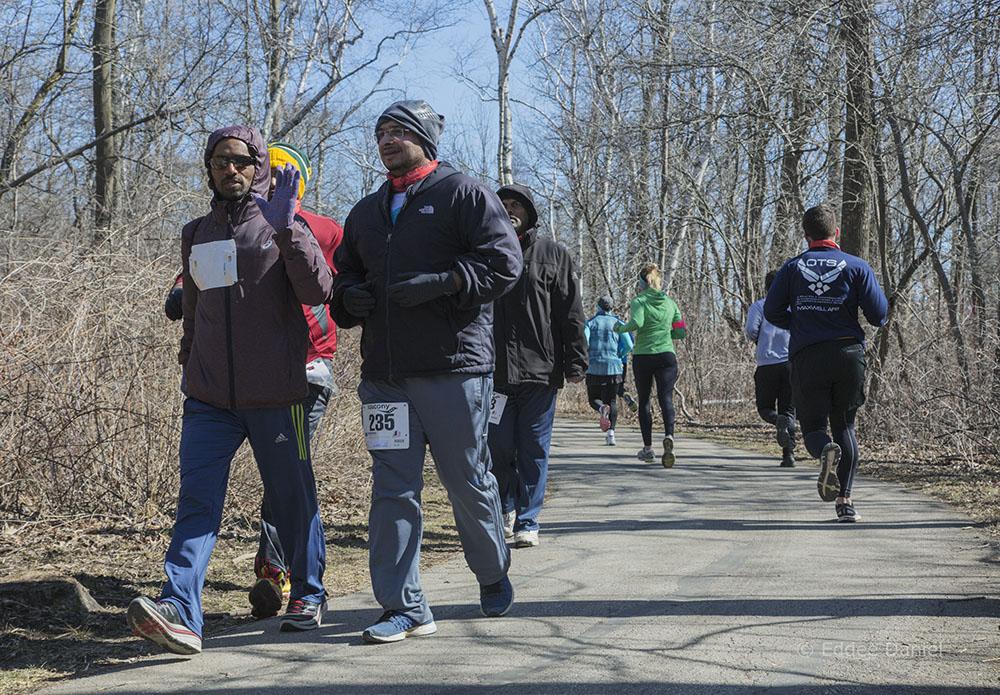 South Shore Marathon, Oak Leaf Trail, Warnimont Park, Cudahy