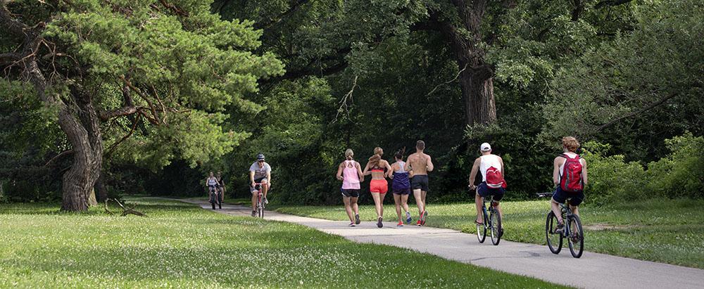 oak leaf trail, hoyt Park