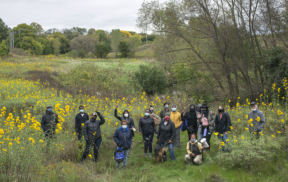 Tour of Lincoln Creek Greenway sponsored by Nearby Nature Milwaukee.